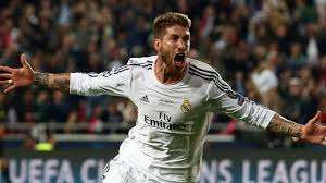 Sergio Ramos celebra gol Champions League