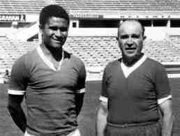 Eusebio y Bela Guttman