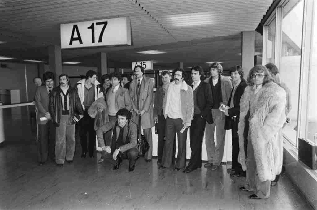 Racing Estrasburgo aeropuerto de Schiphol Copa de Europa de 1980