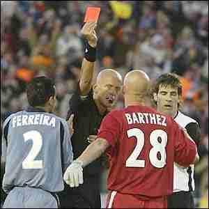 Collina saca roja Barthez