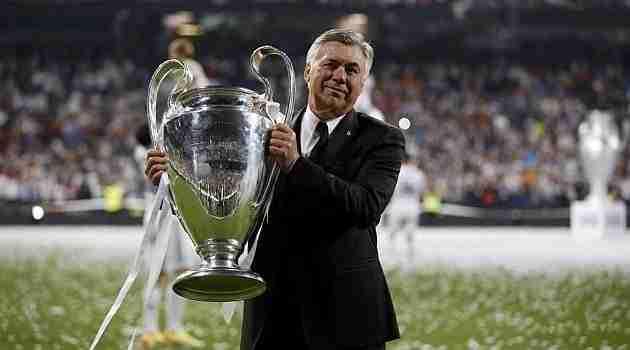 Carlo Ancelotti levanta Champions League
