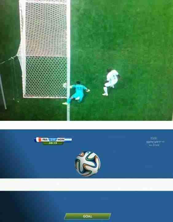 Ojo de halcón del Mundial de Brasil 2014
