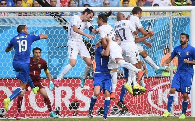 Italia Uruguay Mundial