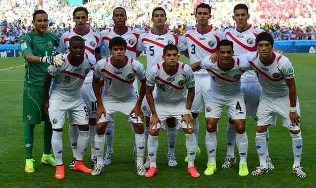 Selección de Costa Rica Mundial Brasil
