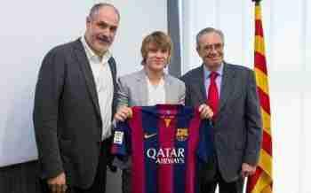 Halilovic es la nueva perla del Barça y posible sensación de la pretemporada