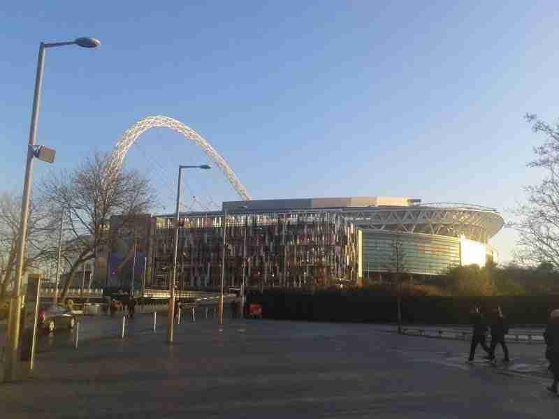 En Wembley juega la Selección Inglesa