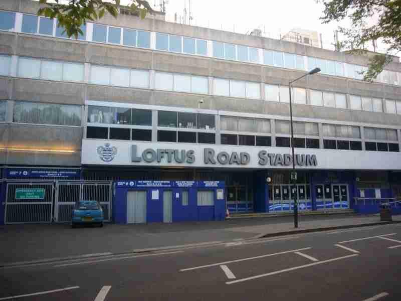 El Loftus Road es el estadio del Queens Park Rangers