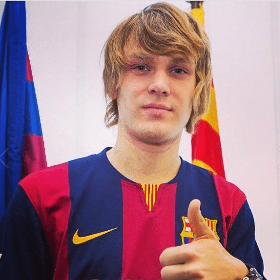 Halilovic presentación FC Barcelona