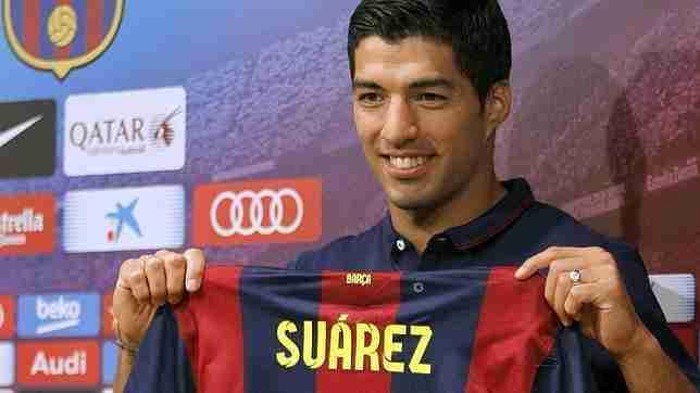 Presentación Luis Suárez F.C.Barcelona