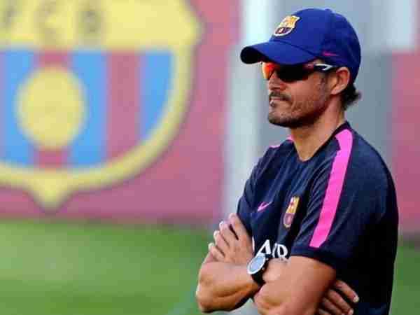 Luis Enrique entrenamiento Barcelona