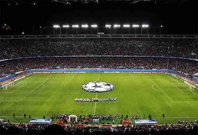 Vicente Calderón Champions