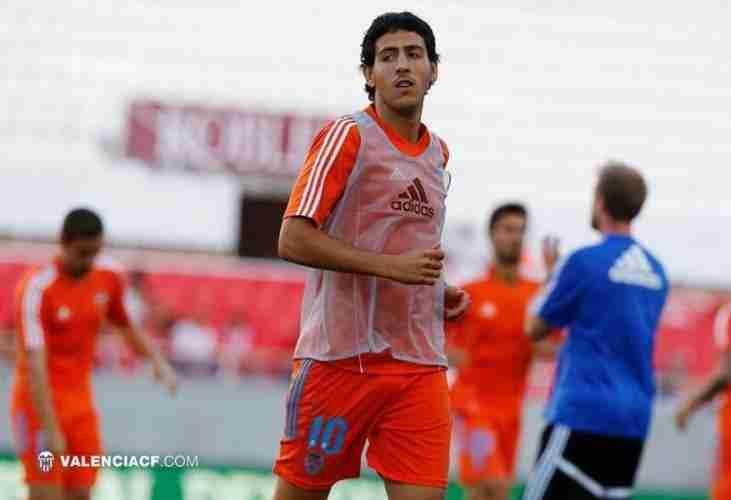 Dani Parejo entrenamiento Valencia C.F.
