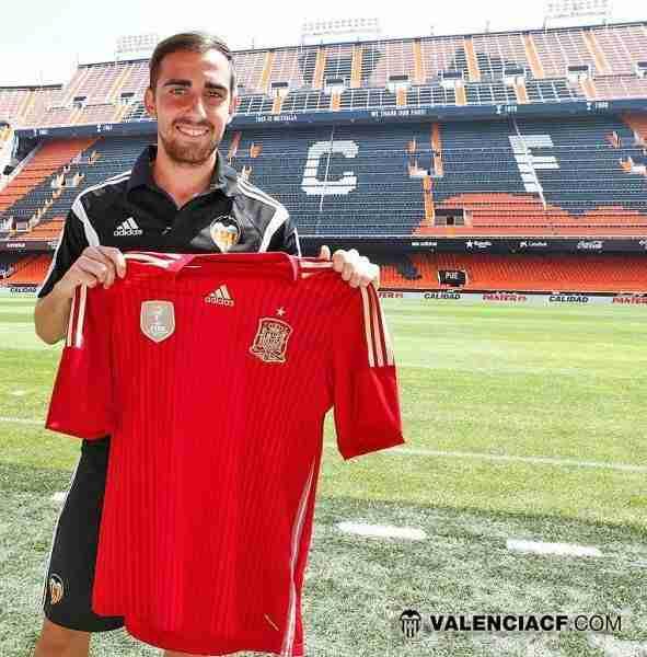 Paco Alcacer convocado por la Selección Española