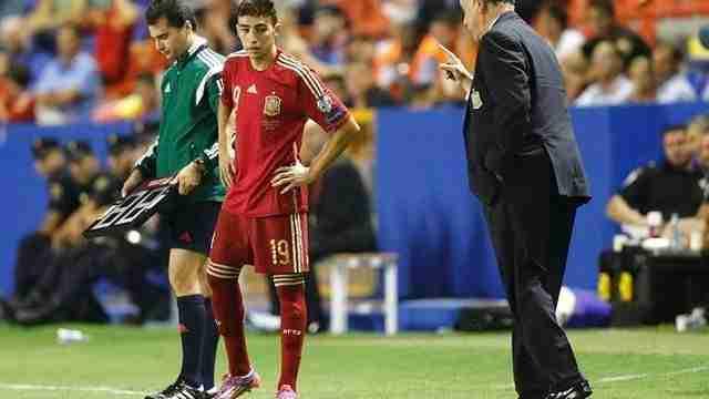 Munir El Haddadi debuta España