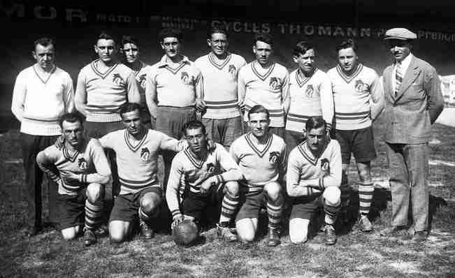 Primer equipo del F.C. Sochaux en 1930