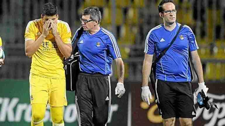 Rulli lesionado Real Sociedad