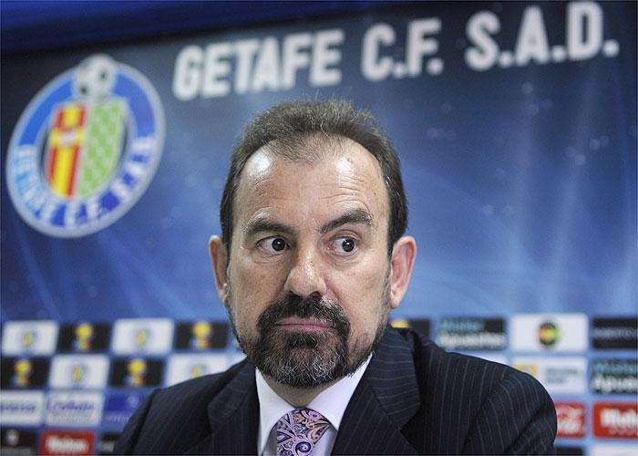 Angel Torres presidente del Getafe