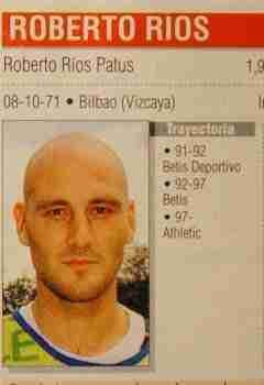 Roberto Ríos Athletic Bilbao