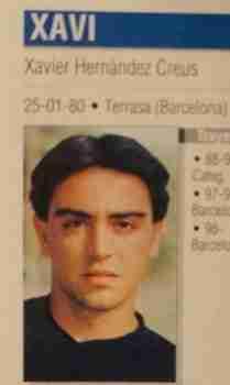 Xavi Hernández Barcelona