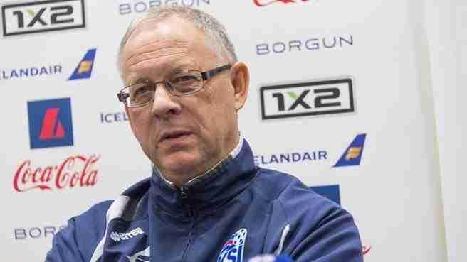 Lars Lagerback entrena a Islandia desde 2011