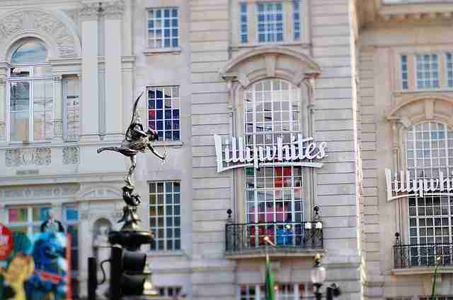 Lillywhites en Picadilly Circus