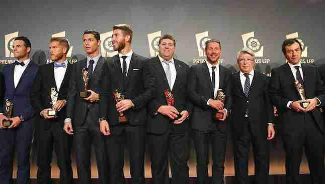 Premiados Premios de la Liga