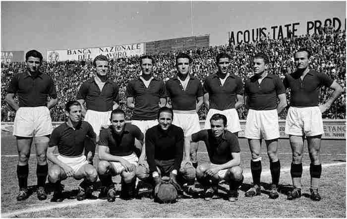 Alineación Torino histórico