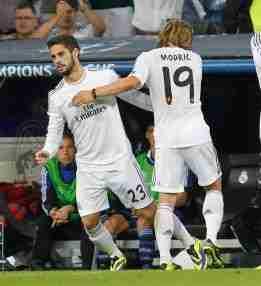 Isco cambio Luka Modric