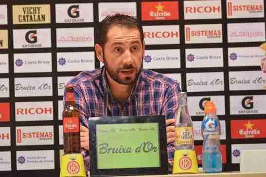 Pablo Machín rueda de prensa Girona F.C.