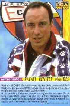 Rafa Benitez CF Extremadura