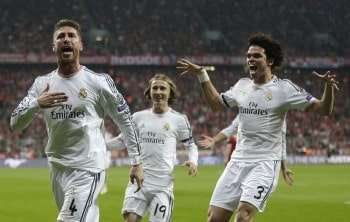 Sergio Ramos y Pepe
