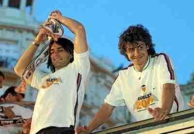 Aimar Ayala celebran Liga Valencia