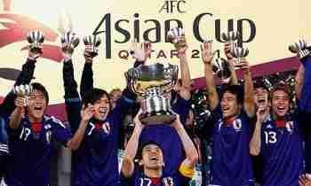 Japón celebra Copa Asia