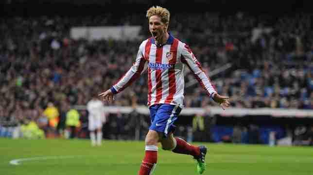 Fernando Torres celebra gol