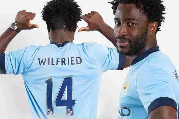 El de Wilfried Bony presentación Manchester City