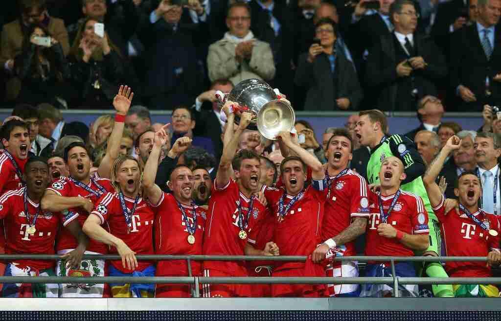 Bayern Munich campeón Champions 2013