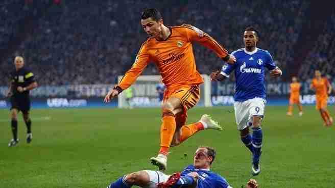 Cristiano destrozó Schalke