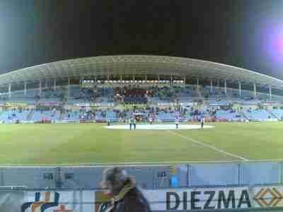 Coliseum Alfonso Pérez vacío