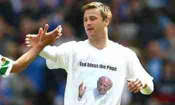 Artur Boruc camiseta Juan Pablo II