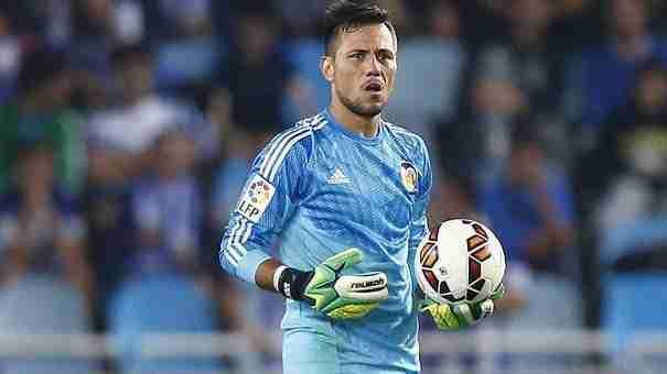 Diego Alves portero del Valencia