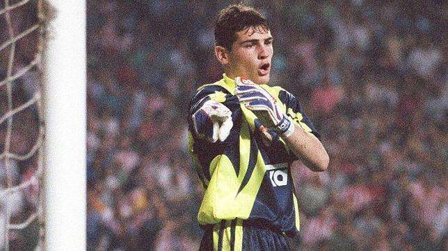 Iker Casillas debut Athletic de Bilbao