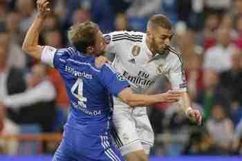 Benzema contra el Schalke 04