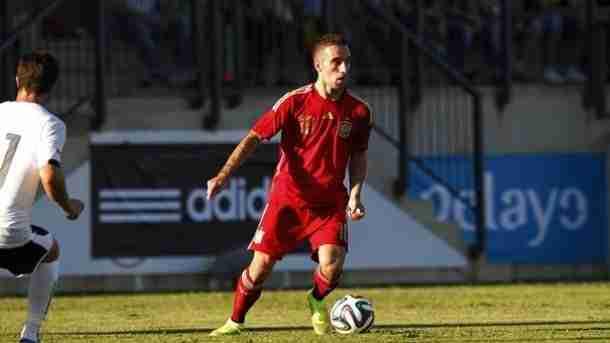 Sergi Darder Moll jugando con España