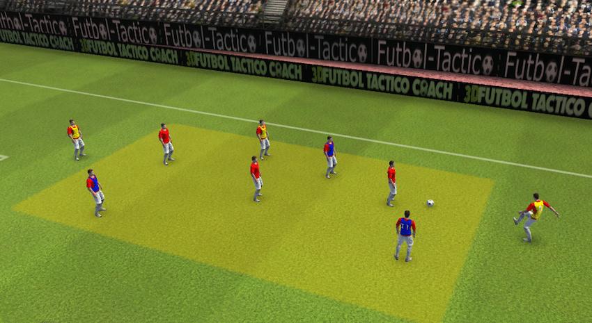 Ejercicios tácticos de fútbol