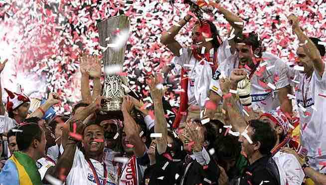 Sevilla celebra UEFA Europa League