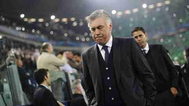 Carlo Ancelotti Fernando Hierro