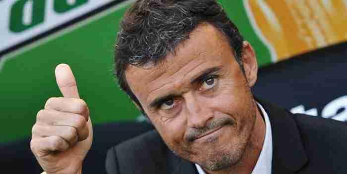 Luis Enrique entrenador del F.C.Barcelona