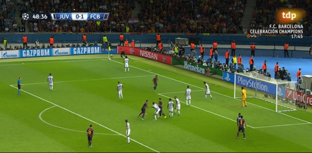 Análisis táctico Juventus Barcelona