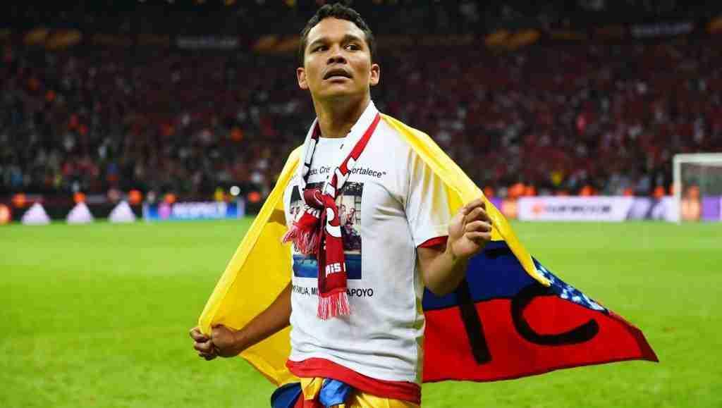 Carlos Bacca delantero Colombia