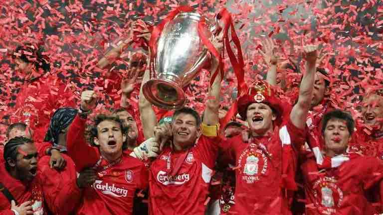 Liverpool celebra Champions 2005
